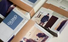 Mailing aankondiging najaarscollectie Gilsing Herenmode