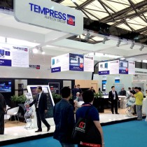 Stand Tempress SNEC PV Power Expo 2014