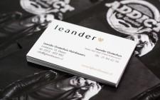 Rebranding Leander Hairdressers