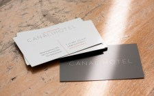 Business cards Amsterdam Canal Hotels