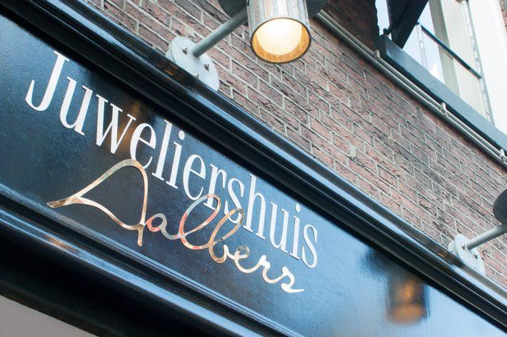 Juweliershuis Aalbers Zwolle aan de Luttekestraat