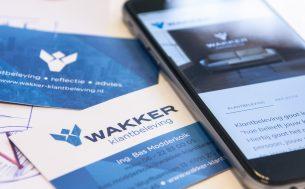 Wakker Klantbeleving, website en visitekaarten