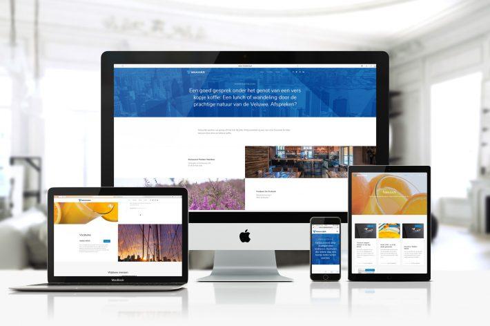 Wakker Klantbeleving, website en visuele identiteit